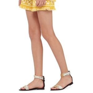 d2ca40d1c8f6 Tory Burch Shoes - NWT Tory Burch Mignon Braided Flat Sandal